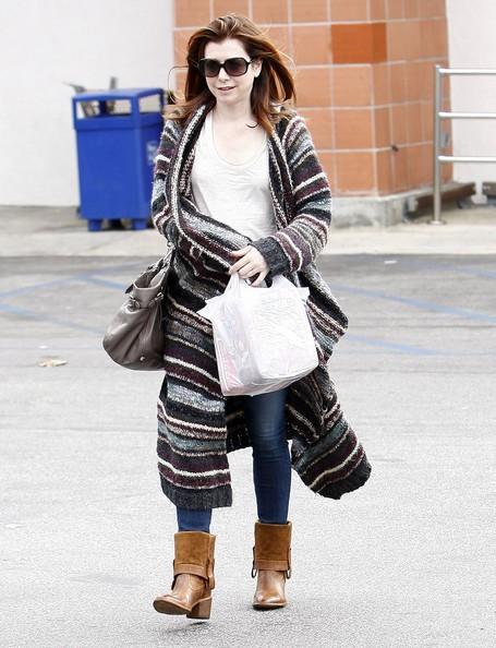 Alyson Hannigan fa shopping presso il Rite Aid in Brentwood