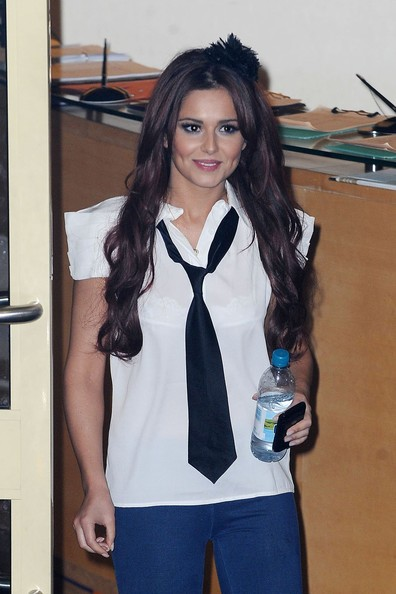 Cheryl Cole lascia i London's Fountain Studios