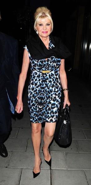 Ivana Trump a Londra (ott. 2010)