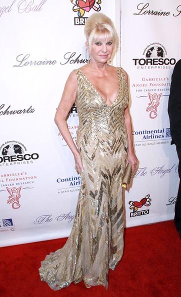 Ivana Trump a New York (ott. 2010)