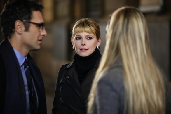 Raoul Bova con Sarah Felberbaum in una scena della commedia Ti presento un amico