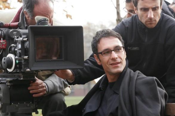 Raoul Bova sul set della commedia vanziniana Ti presento un amico