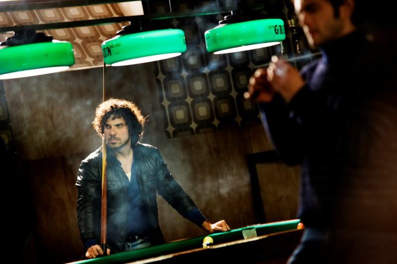 Francesco Montanari nei panni del Libanese in Romanzo Criminale - La serie
