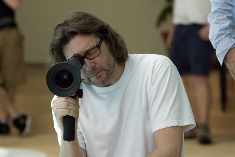 Il regista Kirk Jones sul set di Everybody's fine