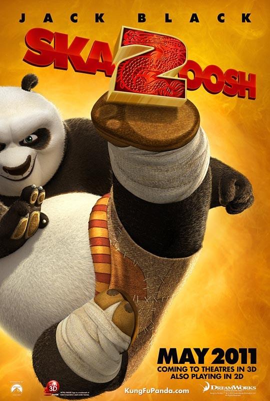 La locandina di Kung Fu Panda 2