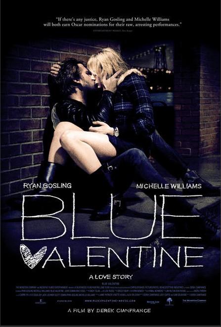 Nuova bellissima locandina di Blue Valentine
