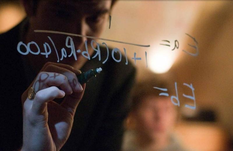 Andrew Garfield in un'immagine significativa di The Social Network