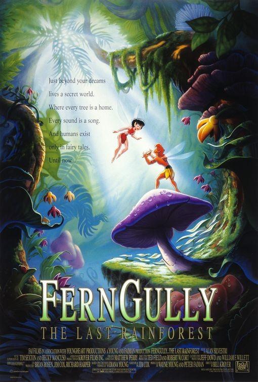 La locandina di Ferngully le avventure di Zak e Crysta