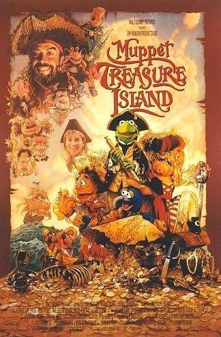 La locandina di I Muppet nell'isola del tesoro