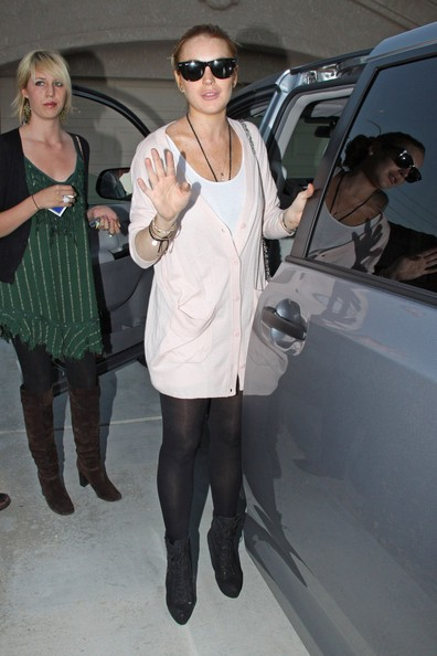 Lindsay Lohan lascia la sua casa a Palm Desert