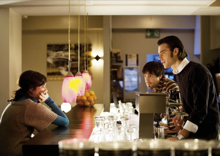Nora Tschirner, Unax Ugalde e Giulio Berruti, protagonisti del film Bon Appetit