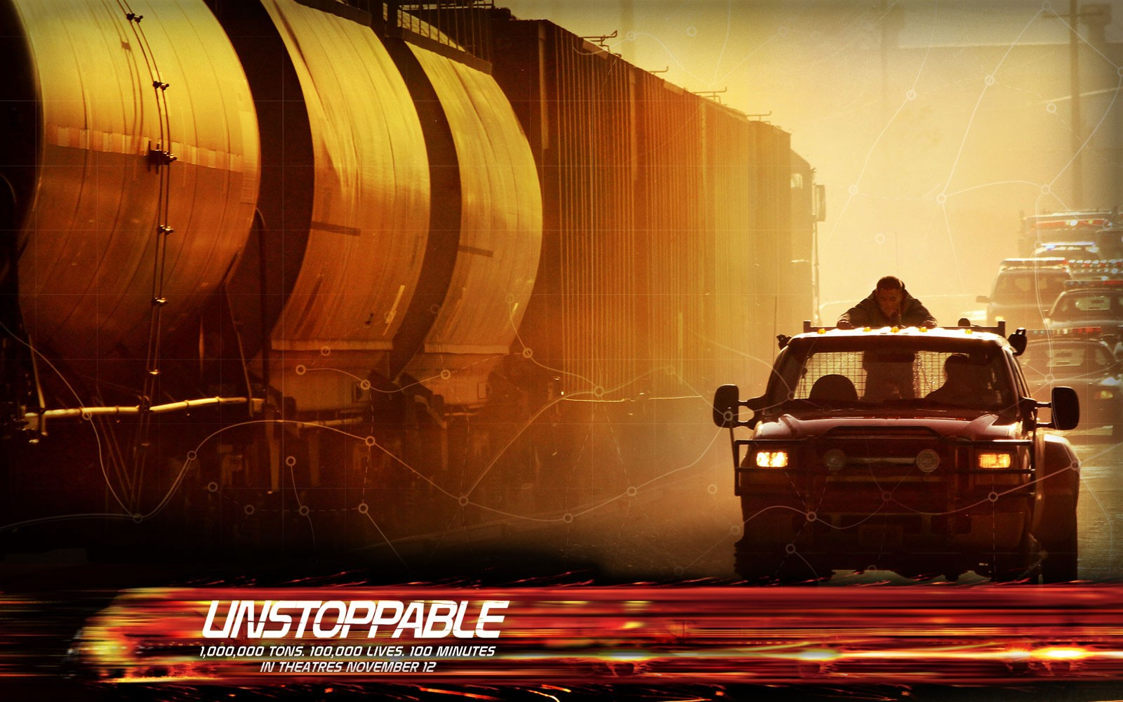 Poster del film Unstoppable