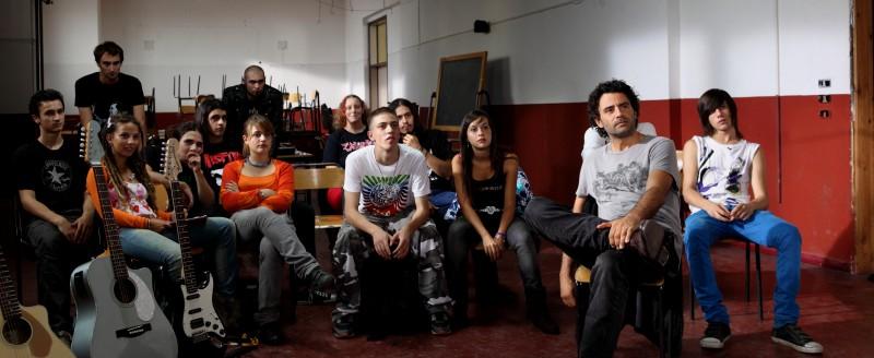 Un'immagine tratta dal film La scuola è finita