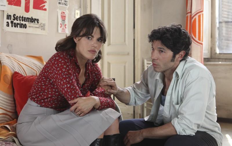 Bianca Guaccero e Francesco Venditti in una scena di Mia madre