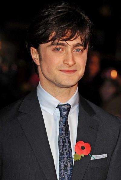 Daniel Radcliffe alla premiere di Harry Potter e i doni della morte - parte 1