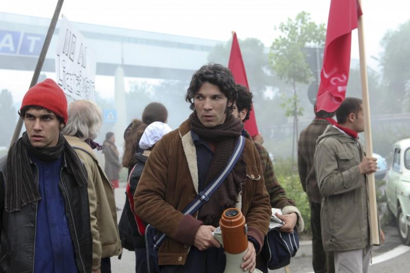 Francesco Venditti in una scena della fiction Mia madre