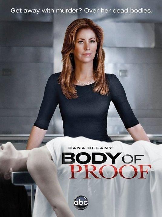 Un poster della serie Body of Proof
