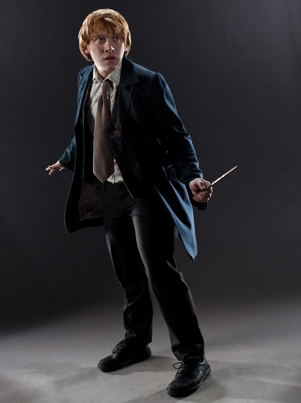 Una foto promo di Rupert Grint (Ron Weasley) per il film I Doni della Morte - parte 1