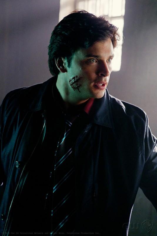 Tom Welling in un momento dell'episodio Abandoned di Smallville