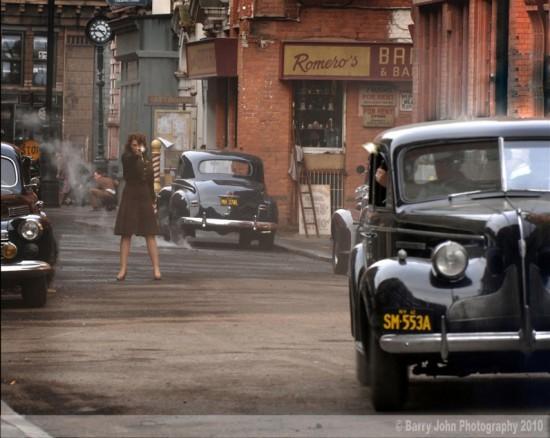 Hayley Atwell in una scena di Captain America: il primo vendicatore