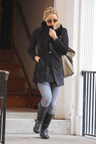Kate Hudson fuori da casa sua a New York