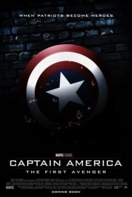 Locandina estera di Captain America: The First Avenger