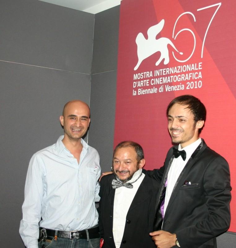 Soriquez a Venezia 67 come direttore di produzione del film The Real Life con Orfeo Orlando