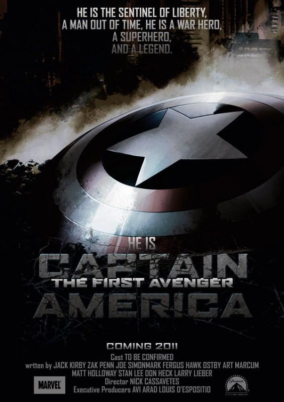teaser poster di Captain America: il primo vendicatore