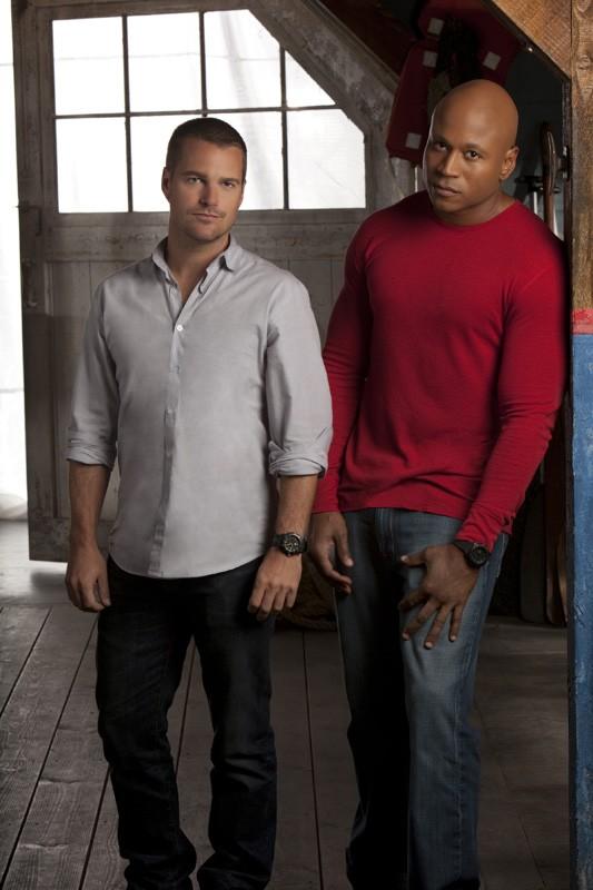 LL Cool J e Chris O'Donnell in un'immagine promo per la 2 stagione di NCIS: Los Angeles