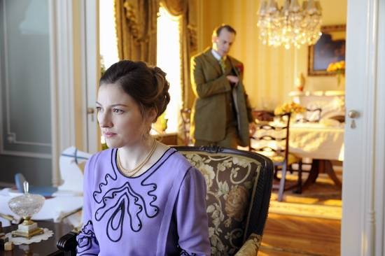 Steve Buscemi e Kelly Macdonald in una scena dell'episodio Belle Femme di Boardwalk Empire