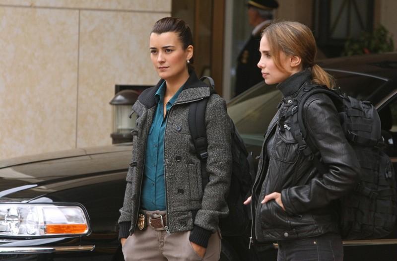 Ziva David (Cote de Pablo) e Liat Tuvia (Sarai Givaty) in Enemies Foreign di NCIS: Unità Anticrimine