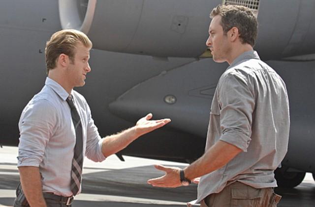 Alex O'Loughlin e Scott Caan in Hawaii Five-0 nell'episodio Po 'ipu