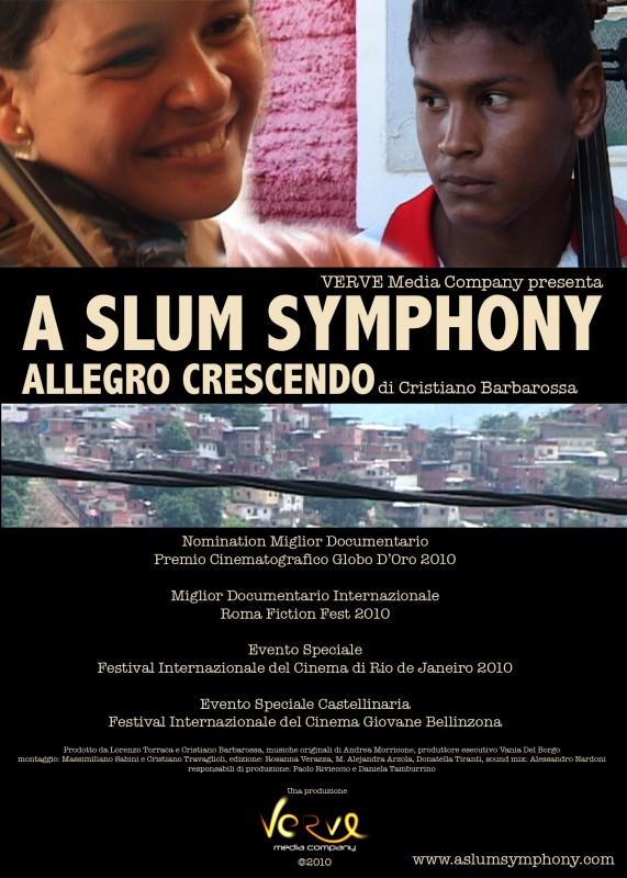 Character Poster del film A Slum Symphony con Jonathan Guzman e Angelica Olivo