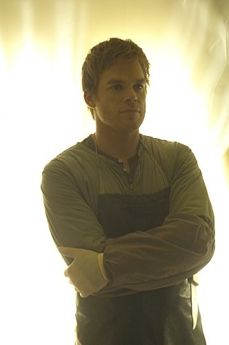 Michael C. Hall in una scena dell'episodio Take It! di Dexter