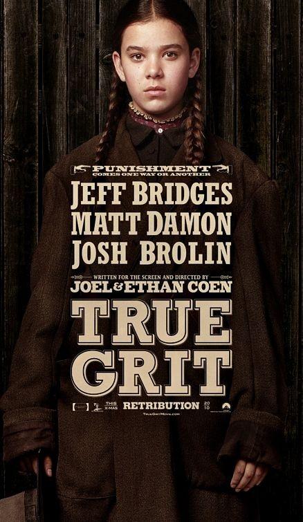 Character poster per True Grit - Hailee Steinfeld