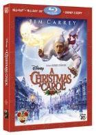 La copertina di A Christmas Carol 3D (blu-ray)