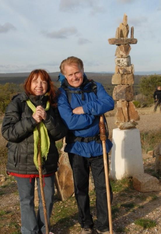 Martin Sheen e Deborah Kara Unger, protagonisti del road movie The Way