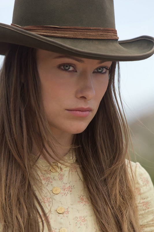 Olivia Wilde nel film Cowboys & Aliens