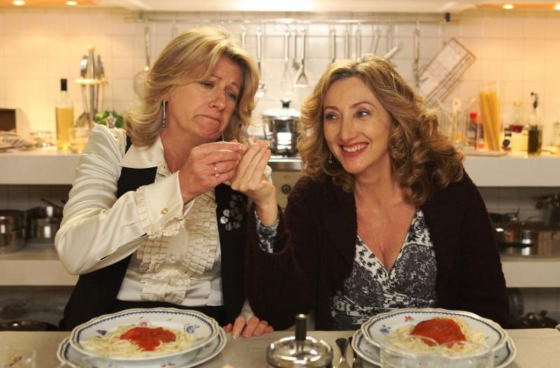 Angela Finocchiaro e Lunetta Savino, protagoniste di Due mamme di troppo