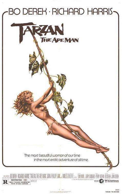 La locandina di Tarzan, l'uomo scimmia