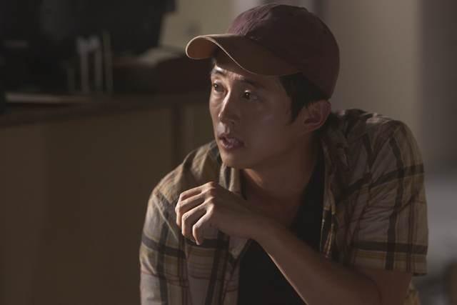Steven Yeun nell'episodio Vatos di The Walking Dead
