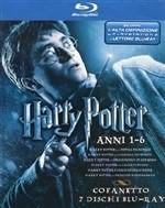 La copertina di Harry Potter Anni 1-6 Cofanetto (blu-ray)