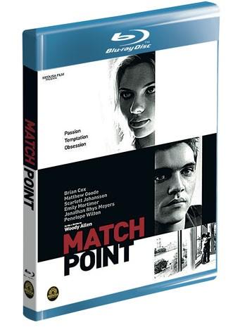 La copertina di Match Point (blu-ray)