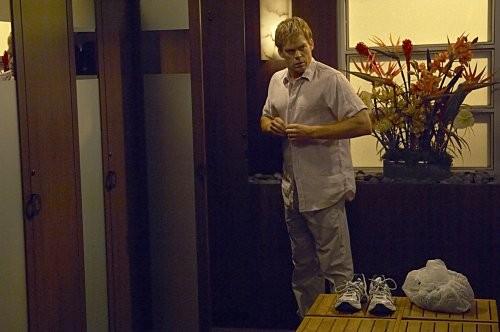 Michael C. Hall in una scena dell'episodio 'Teenage Wasteland' di Dexter