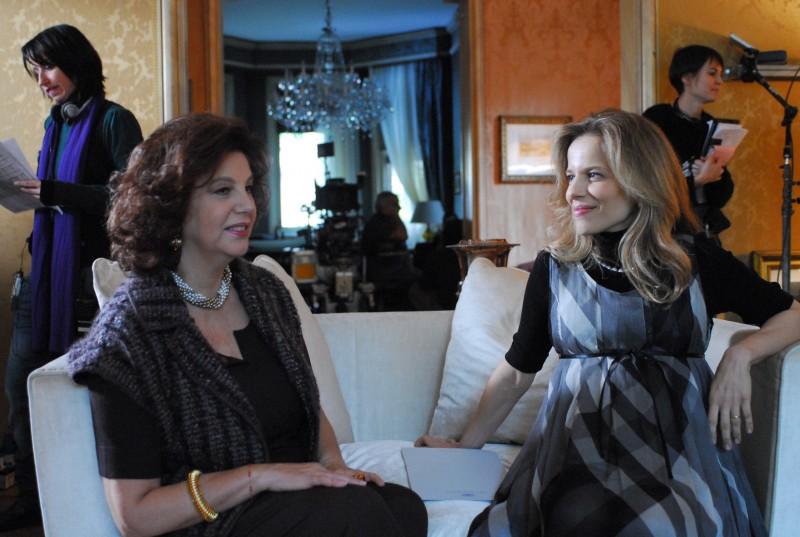 Stefania Sandrelli e Sonia Bergamasco in una scena del film La donna della mia vita