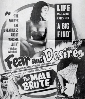 La locandina di Fear and Desire