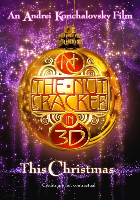 Poster russo del film The Nutcracker in 3D