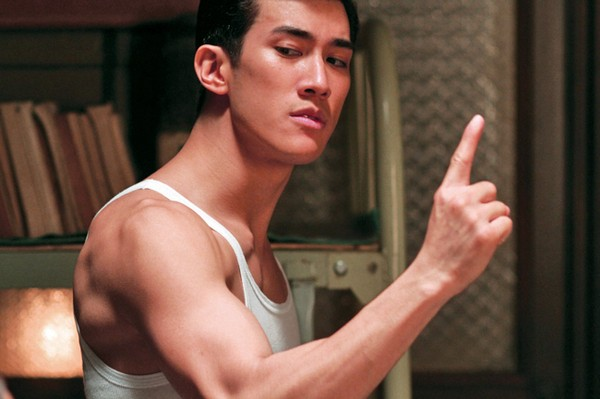 Aarif Lee, incredibilmente somigliante alla star interpretata in Bruce Lee, My Brother
