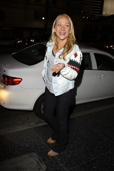 Nicole Sullivan fuori dal ristorante Katsuya in West Hollywood