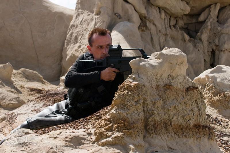 Robert Knepper in una scena dell'episodio Malice di Stargate Universe